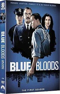 <i>Blue Bloods</i> (season 1) Season of American television series Blue Bloods