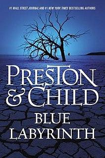 <i>Blue Labyrinth</i> book by Douglas Preston