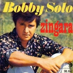 Zingara (song) - Image: Bobby solo zingara ricordi 2