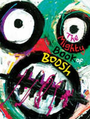 The Mighty Book of Boosh - Cover of the hardback edition