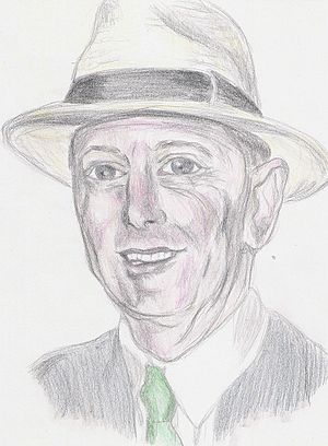 Portrait of Geoffrey Boycott.