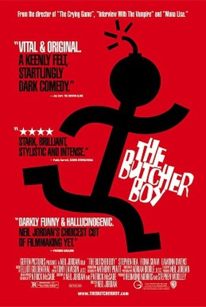 The Butcher Boy (1997 film) - Theatrical release poster