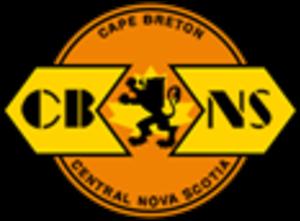 Cape Breton and Central Nova Scotia Railway - Image: CBNS Rail Logo
