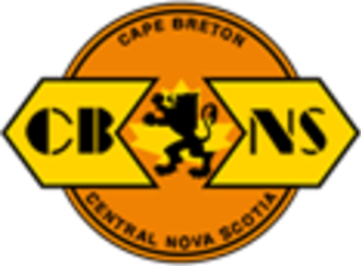 Cape Breton and Central Nova Scotia Railway - Image: CBNS Rail Logo
