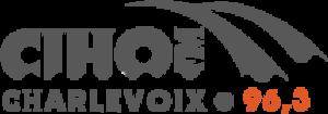 CIHO-FM - Image: CIHO FM Charlevoix 96.3 logo