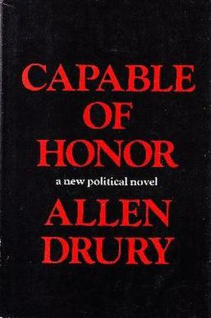 Capable of Honor - First edition