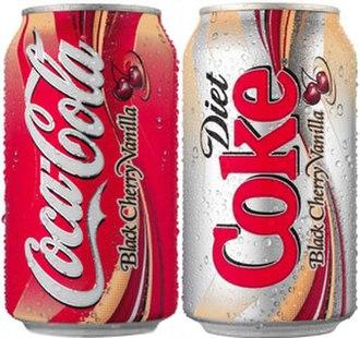 Coca-Cola Black Cherry Vanilla - Image: Cc bcv