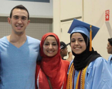 Image result for Suzanne Barakat's brother Deah, her sister-in-law Yusor and Yusor's sister Razan were murdered by their neighbor in Chapel Hill,