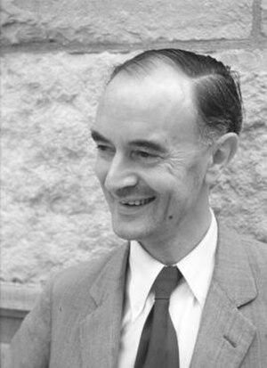 Christopher Kelk Ingold - Ingold, as photographed in Michigan State University.