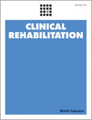 Clinical Rehabilitation - Image: Clinical Rehabilitation journal front cover