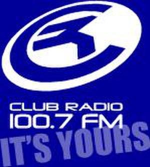 KLBE-LP - Club Radio logo