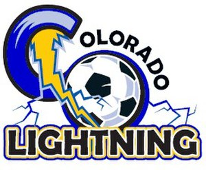 Colorado Lightning - Image: Colorado Lightning Logo