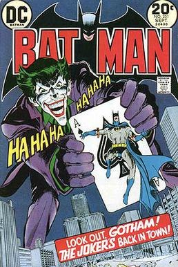 Comic Book - Batman 251 Cover (1973)
