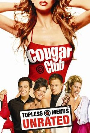 Cougar Club - Image: Cougar club dvd cover