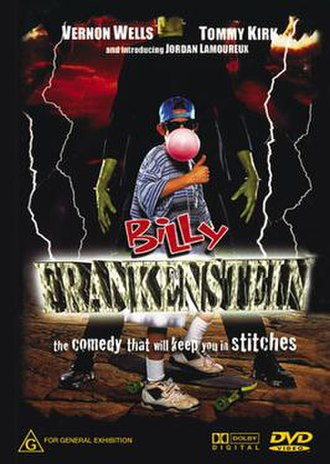 Billy Frankenstein - DVD release cover