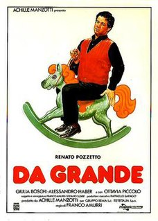 <i>Da grande</i> (film) 1987 film by Franco Amurri