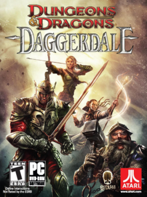 Dungeons & Dragons: Daggerdale - North American box art