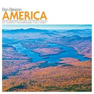 America (Dan Deacon album) - Image: Dan Deacon America