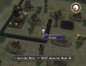 Dark Cloud - Georama mode, which allows players to rebuild towns and villages