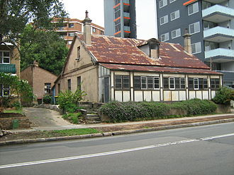 David Lennox - Lennox's house at 39 Campbell Street, Parramatta