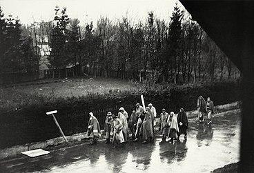 Death march from Dachau
