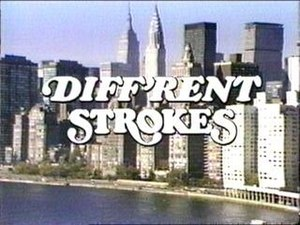 Diff'rent Strokes - Title screen