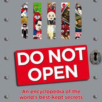 Do Not Open - Book cover