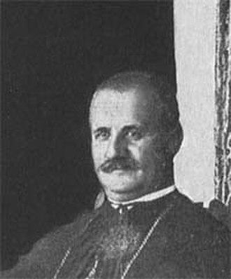 Luigj Bumçi - Image: Dom Luigj Bumci, Albanian Catholic Bishop and politician