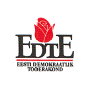 Estonian Democratic Labour Party (1989) - EDTE symbol