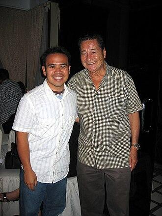Eddie Garcia - Eddie García (right of photo)