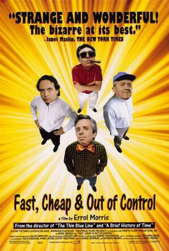 Fast, Cheap & Out of Control - Theatrical release poster
