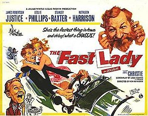 The Fast Lady - original film poster
