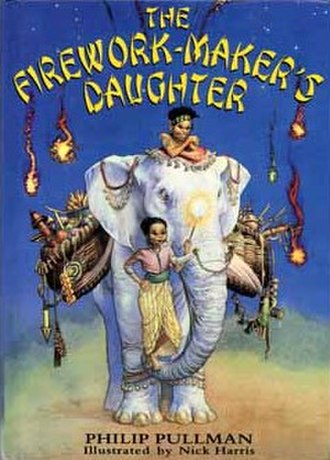 The Firework-Maker's Daughter - First edition cover