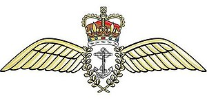 Royal Navy officer rank insignia - Image: Fleet Air Arm wings