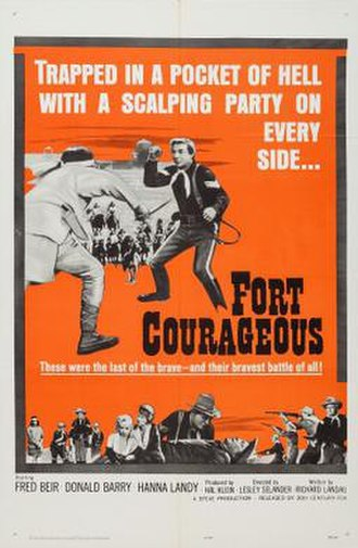 Fort Courageous - Theatrical release poster