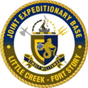 Joint Expeditionary Base–Little Creek - Image: Fort Storey Shield