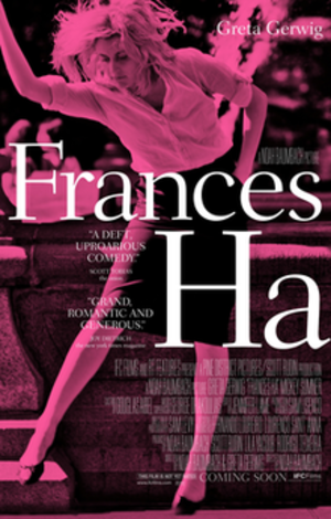 Frances Ha - Theatrical release poster