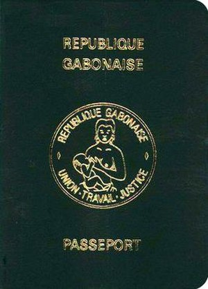 Gabonese passport - Non-biometric passport of Gabon