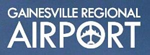Gainesville Regional Airport - Image: Gainesville Regional Airport Logo