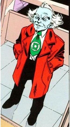 Ganthet - Ganthet, in Green Lantern: Ganthet's Tale (1992). Art by John Byrne.