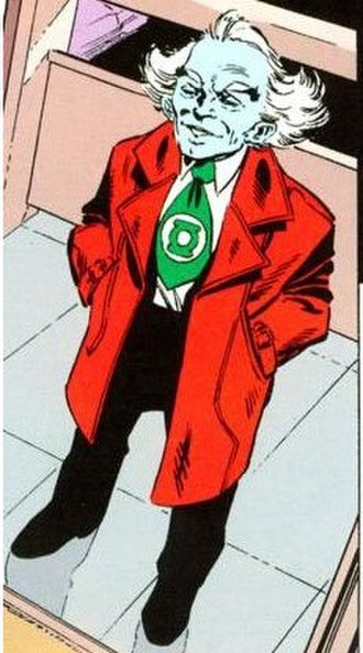 Ganthet - Ganthet, in Green Lantern: Ganthet's Tale (1992). Art by John Byrne.