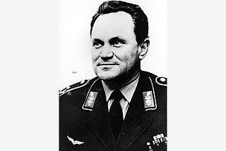 Walter Krupinski German general and fighter pilot during World War II