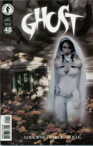 Ghost (Dark Horse Comics) - Image: Ghost Spec 2 Jun 98 (Yvonne Epstein)