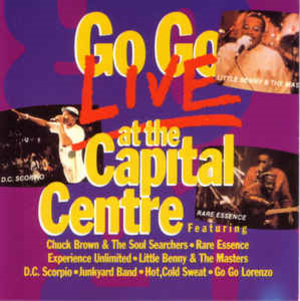 Go Go Live at the Capital Centre - Image: Go Go Live Capital Centre 1987