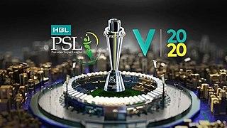 2020 Pakistan Super League Cricket tournament