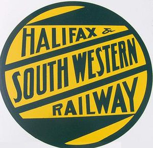 Halifax and South Western Railway - Image: Halifax and Southwestern Railway herald