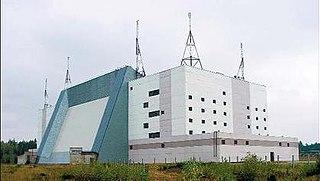 Hantsavichy Radar Station Russian radar station in Belarus