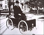 Henry Ford in the Quadricycle, 1905