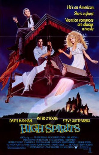 High Spirits (film) - Original theatrical poster