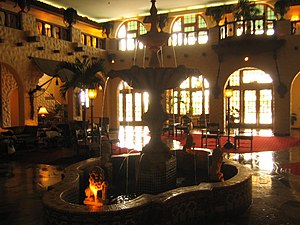 The Hotel Hershey - The Fountain Lobby at the Hotel Hershey